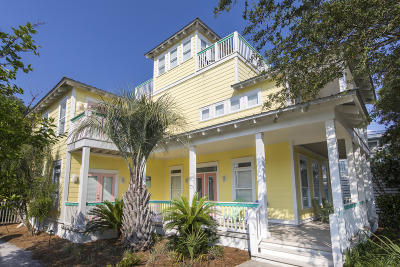 Inlet Beach Single Family Home For Sale: 7951 E County Hwy 30a