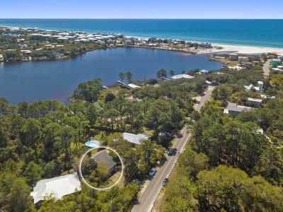Santa Rosa Beach Single Family Home For Sale: 151 S Gulf Drive