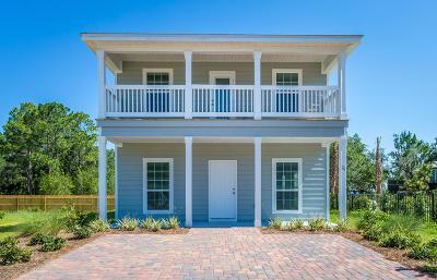 Santa Rosa Beach Single Family Home For Sale: 26 Tranquility Lane