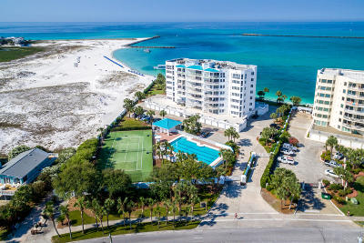 Holiday Isle Condo/Townhouse For Sale: 280 Gulf Shore Drive #UNIT 241