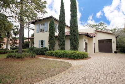 Miramar Beach Single Family Home For Sale: 1418 Baytowne Circle
