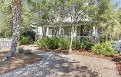 Santa Rosa Beach Single Family Home For Sale: 23 Dune Rosemary Court