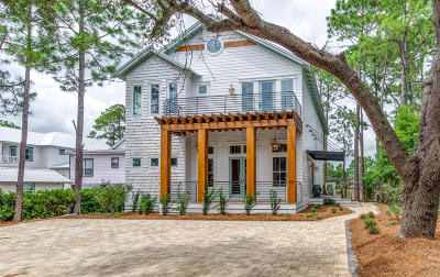 Santa Rosa Beach Single Family Home For Sale: 60 Shannon Drive