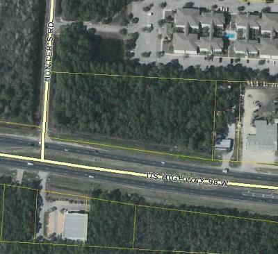 Residential Lots & Land For Sale: 3.93 Acres U.s. Highway 98
