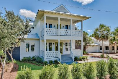 Inlet Beach Single Family Home For Sale: 160 A Street
