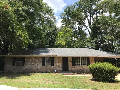 Defuniak Springs Single Family Home For Sale: 93 N 1st Street