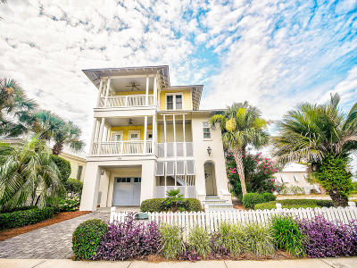 Destin Single Family Home For Sale: 3586 Waverly Circle