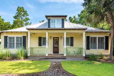 Santa Rosa Beach Single Family Home For Sale: 74 Chrysler Avenue