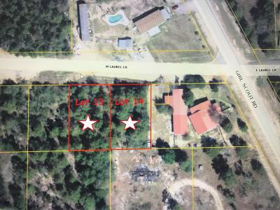 Residential Lots & Land For Sale: 13&14 W Laurel Lane