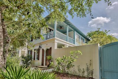 Rosemary Beach Single Family Home For Sale: 115 E Kingston Road