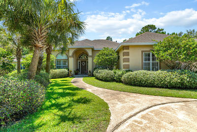 Destin Single Family Home For Sale: 80 Baywinds Drive