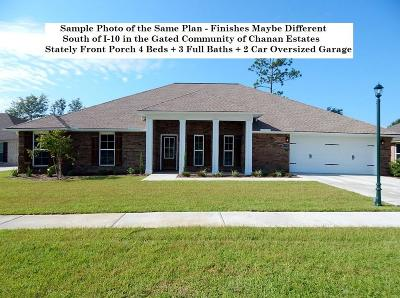 Crestview Single Family Home For Sale: 4705 Chanson Crossing Crossing