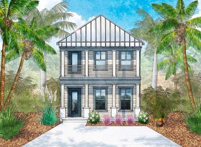 Santa Rosa Beach Single Family Home For Sale: lot 16 Charming Way