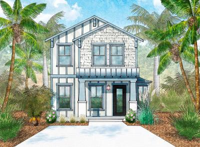 Santa Rosa Beach Single Family Home For Sale: Lot 19 Magical Place