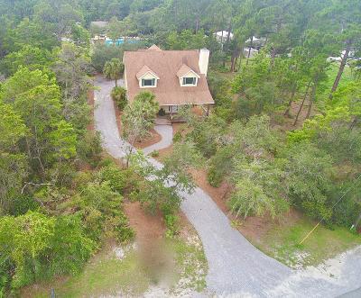 Santa Rosa Beach Single Family Home For Sale: 46 Blue Bayou Drive