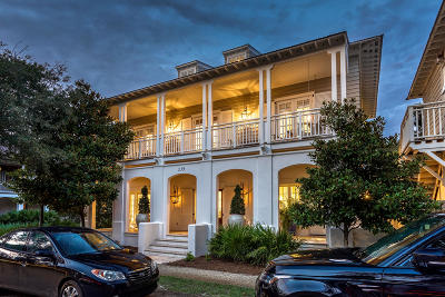 Rosemary Beach Single Family Home For Sale: 139 Rosemary Avenue