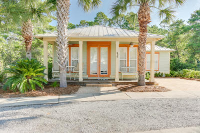 Inlet Beach Single Family Home For Sale: 248 Beach Bike Way