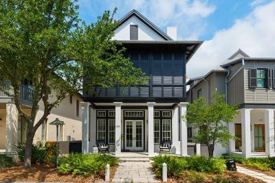 Rosemary Beach Single Family Home For Sale: 198 E Water Street