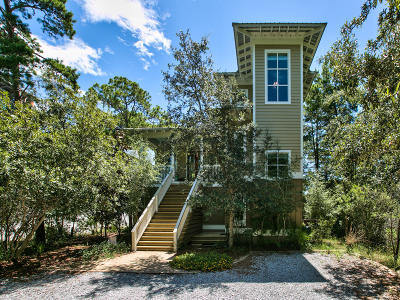 Santa Rosa Beach Single Family Home For Sale: 135 Wilderness Way