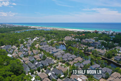 Santa Rosa Beach Single Family Home For Sale: 13 Half Moon Lane