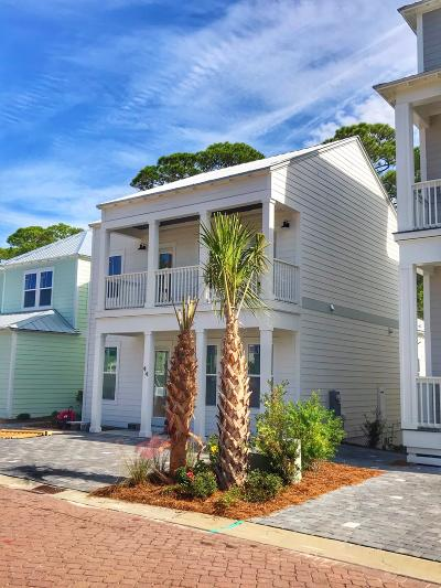 Santa Rosa Beach Single Family Home For Sale: 44 Charming Way