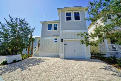 Santa Rosa Beach Single Family Home For Sale: 324 Gulfview Circle