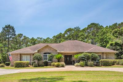 Santa Rosa Beach Single Family Home For Sale: 125 Hillcrest Road
