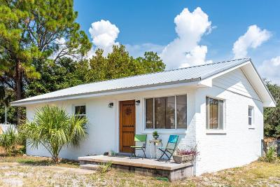 Santa Rosa Beach Single Family Home For Sale: 2460 W County Hwy 30a