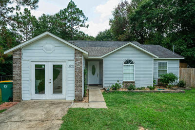 Crestview Single Family Home For Sale: 2540 Sunset Drive