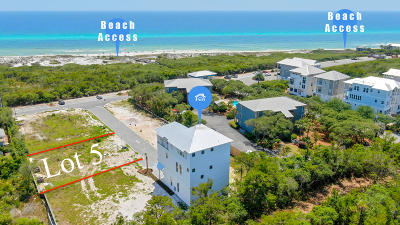 Inlet Beach Single Family Home For Sale: Lot 5 Mala Way