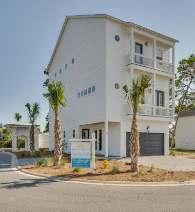 Inlet Beach Single Family Home For Sale: Lot 1 Valdare Way