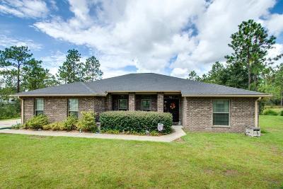 Okaloosa County Single Family Home For Sale: 6468 Welannee Boulevard