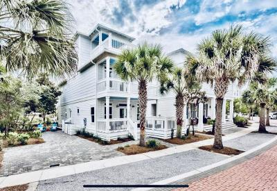 Inlet Beach Single Family Home For Sale: 60 The Greenway Loop