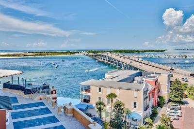 Destin Condo/Townhouse For Sale: 10 Harbor Boulevard #W429