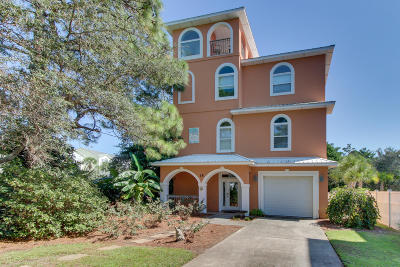 Santa Rosa Beach Single Family Home For Sale: 15 Beachwalk Lane