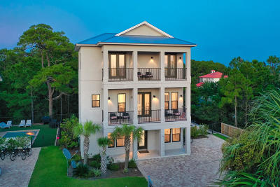 Santa Rosa Beach Single Family Home For Sale: 146 Woodward Drive