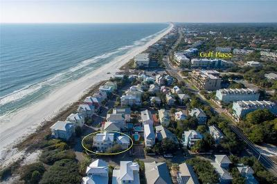 Santa Rosa Beach Single Family Home For Sale: 70 Seaward Drive
