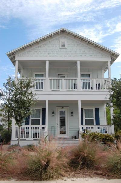 Fort Walton Beach, Destin, Santa Rosa Beach, Niceville, Crestview, Mary Esther Single Family Home For Sale: 245 Emerald Beach Circle