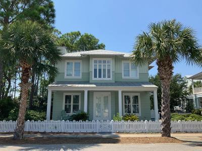 Panama City Beach Single Family Home For Sale: 206 Sandyshore Drive