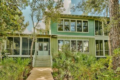 Santa Rosa Beach FL Single Family Home For Sale: $1,100,000