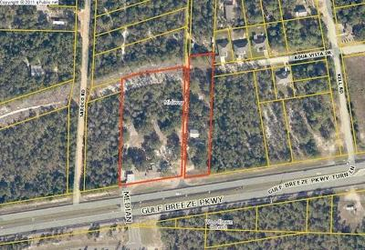 Residential Lots & Land For Sale: 5080 Gulf Breeze Parkway