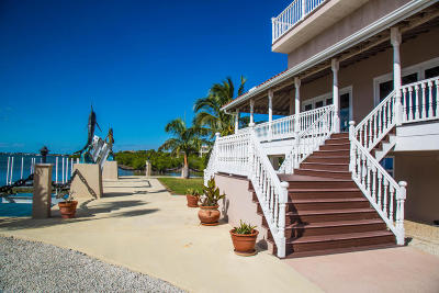Monroe County Single Family Home For Sale: 24200 Overseas Highway #Ocean Po