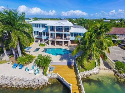 Islamorada FL Single Family Home For Sale: $5,995,000