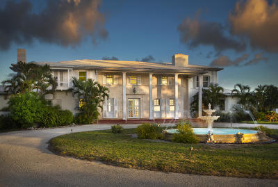 Key West FL Single Family Home For Sale: $10,495,000