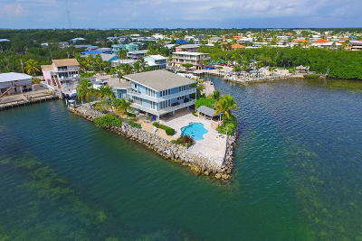Key Largo FL Single Family Home For Sale: $3,490,000