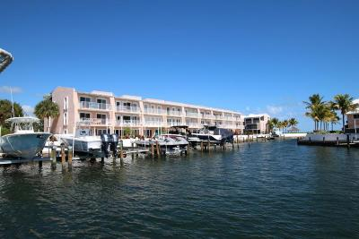 Key Largo Yacht Club (100.0) Condo/Townhouse For Sale: 1501 Ocean Bay Drive #C2