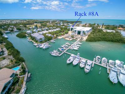 Big Pine, Big Pine Key, Conch, Duck, Key Colony, Key Colony Beach, Layton, Long Key, Marathon, No Name, Summerland, Summerland Key Boat Slip For Sale: 12411 Overseas Highway #8A