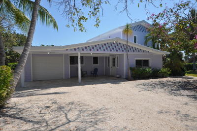 Islamorada Single Family Home For Sale: 161 E Ridge Road