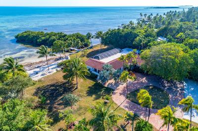 Islamorada Single Family Home For Sale: 80531 Old H Highway