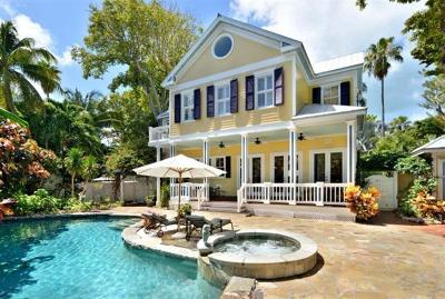 Key West FL Single Family Home For Sale: $3,595,000